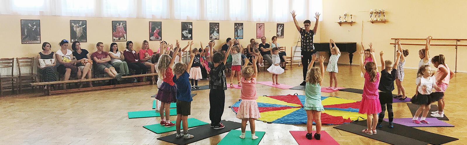 Taneční kurzy pro děti v Bakově