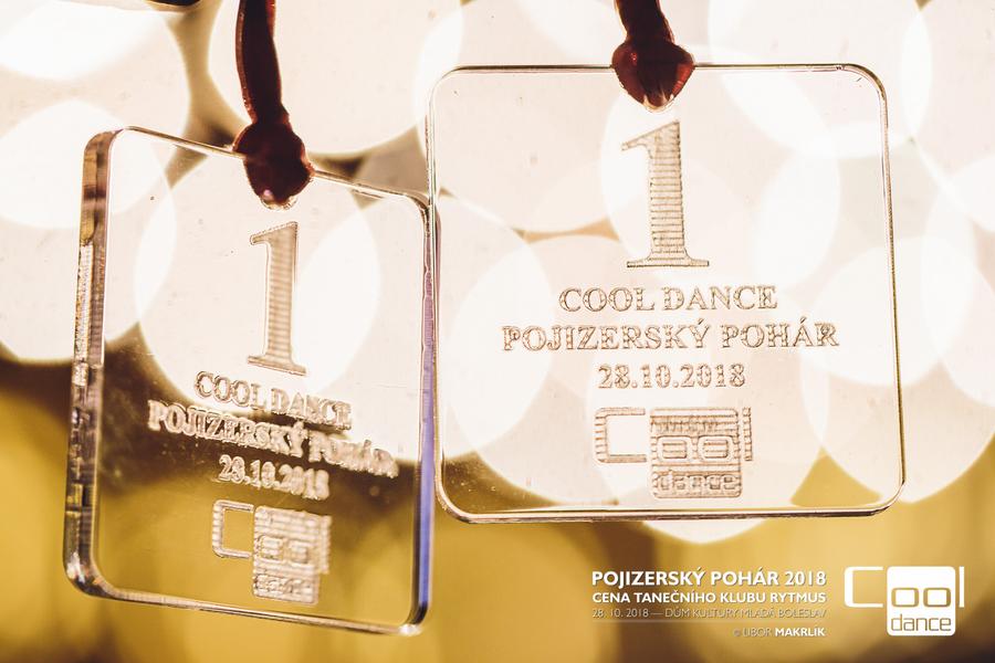 Zlaté medaile pro taneční klub COOL DANCE