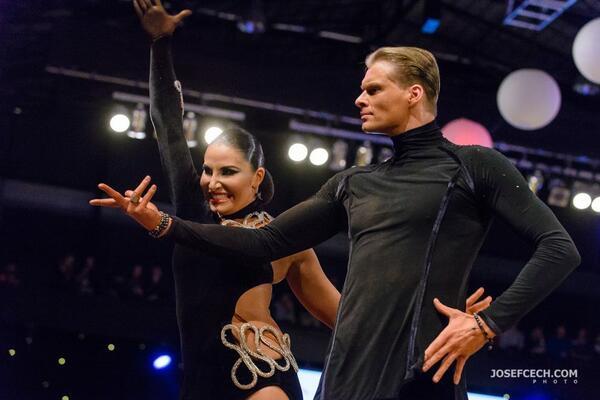 Pavel SLuka & ELizaveta Kuklina Mistři čr taneční sport COOL DANCE