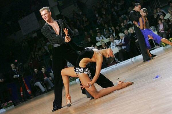 Elizaveta Kuklina vicemistryně čr v latinskoamerických tancích