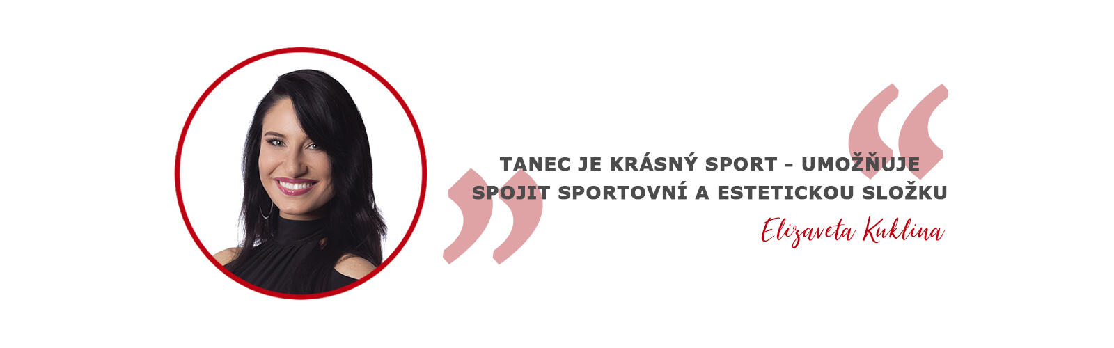Elizaveta Kuklina - trenér, porotce 1. třídy český svaz tanečního sportu