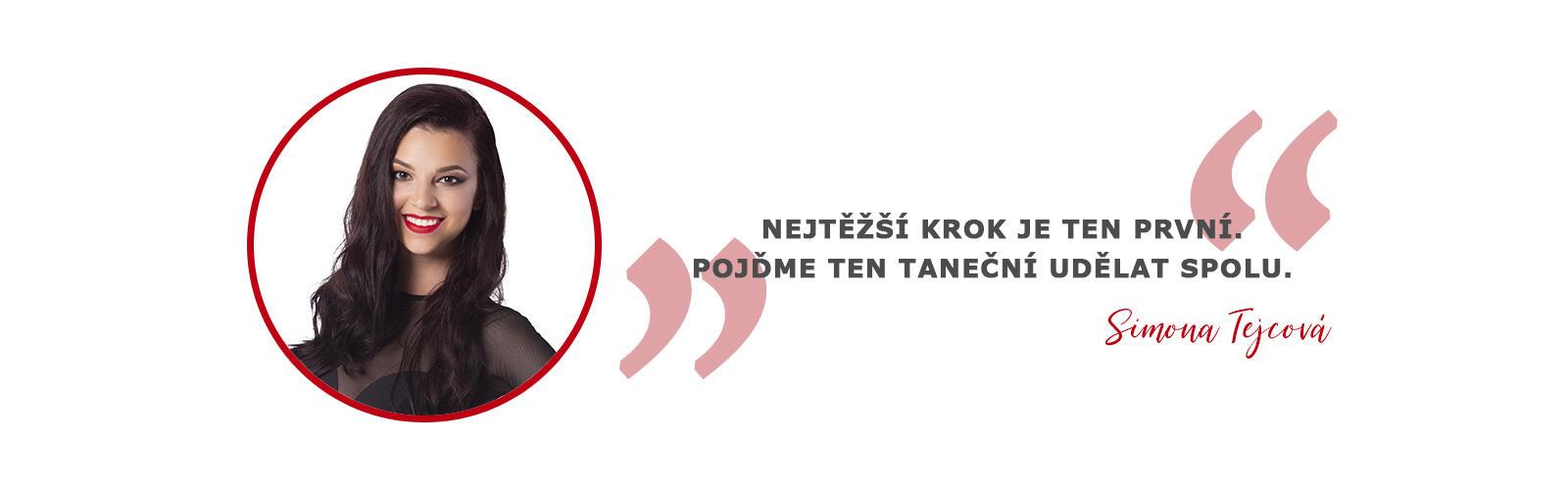 Simona Tejcová trenérka tanečnice porotkyně taneční škola a studio COOL DANCE